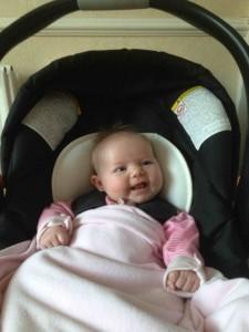 Amy Edith Car Seat Liteway 1