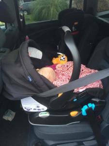 Amy Edith Car Seat Liteway 7